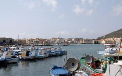 Ägadische Inseln, Favignana-Fischerhafen (6)
