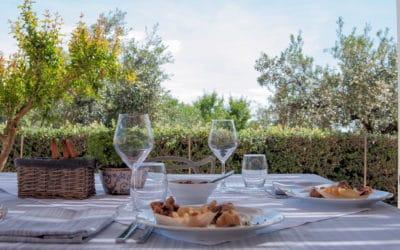 Agriturismo Menfi Restaurant auf der Terrasse (1)