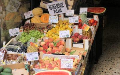 Cefalu, Gemüsehändler