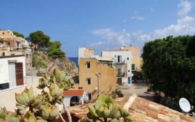 Ferienhaus Sant' Elia, Dachterrasse mit Meerblick (5)