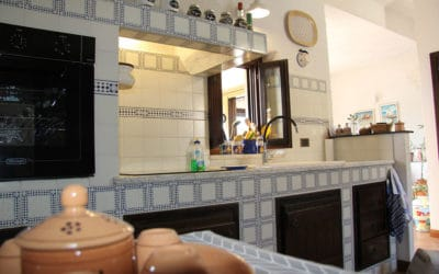 Ferienhaus Sant' Elia, Küche (1)