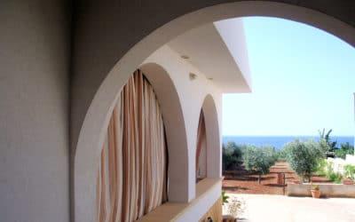Ferienhaus Selinunte Blick vom Eingang (3)