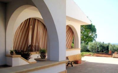 Ferienhaus Selinunte Blick vom Eingang