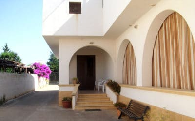 Ferienhaus Selinunte Eingang
