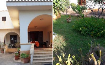 Ferienhaus Selinunte Garten (1)
