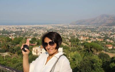 Monreale Blick auf Palermo (1)