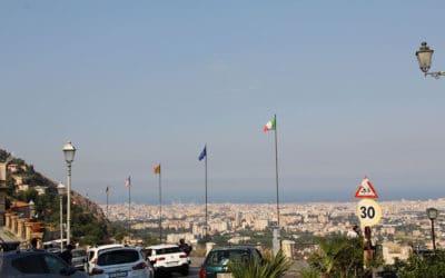 Monreale Blick auf Palermo (2)