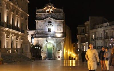 Ortigia Platz der Kathedrale