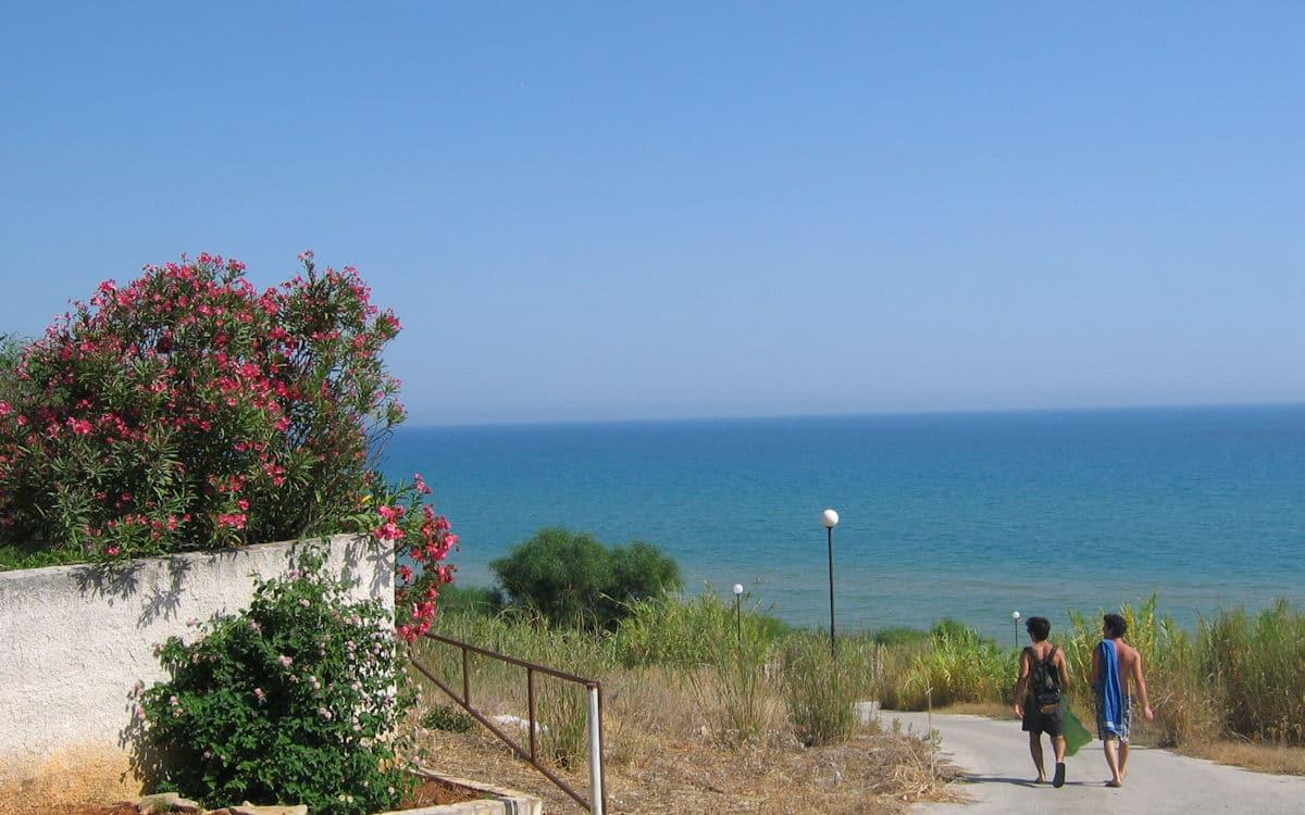 Privatstrasse zum Strand (2)