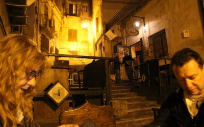 Pub auf den Treppen in Sciacca (1)