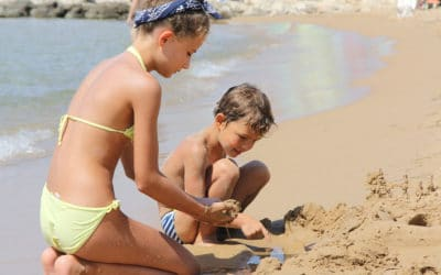 Sandstrand Portopalo im Sommer (8)