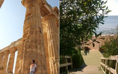 Selinunte griechische Tempelanlage und Strandzugang