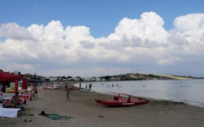 Strand gegenüber der Villa (4)
