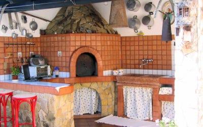 Villa Portopalo 3 gemauerte Außenküche (22)