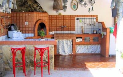 Villa Portopalo 3 gemauerte Außenküche (25)