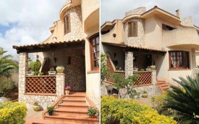 Villa Portopalo 6 Eingang (2)