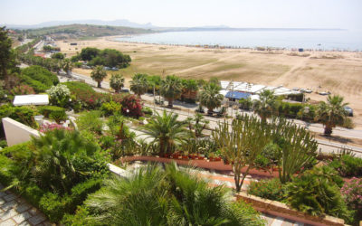 Villa Portopalo Garten mit Meerblick (4)