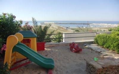 Villa Portopalo Sandkasten und Meerblick (3)