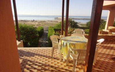 Villa Portopalo Terrasse der Ferienwohnungen (2)