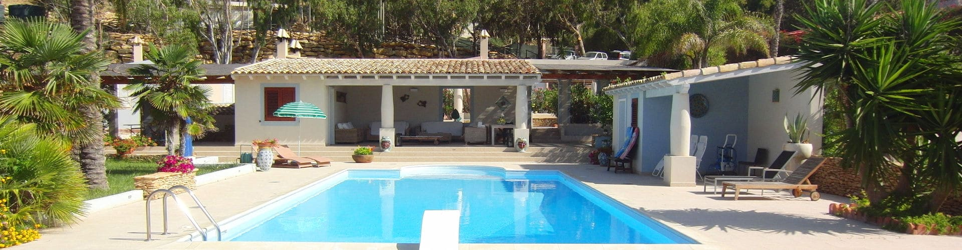 Villa Portopalo mit Meerblick
