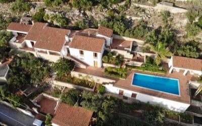 Villa Terrasini Luftaufnahme