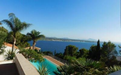 Villa Terrasini mit Meerblick