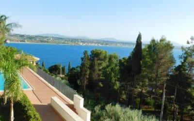 Villa Terrasini Pool und Meerblick (2)