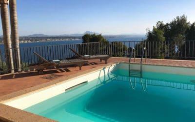 Villa Terrasini Pool und Meerblick (3)