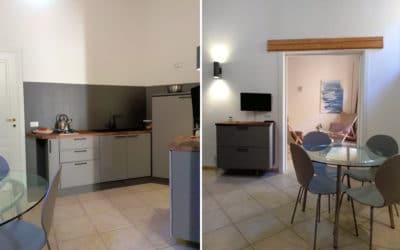 Wohnküche Ferienwohnung Ortigia (2)