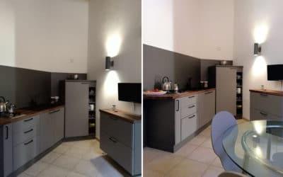 Wohnküche Ferienwohnung Ortigia