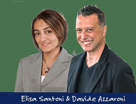 Elisa Santoni und Davide Azzaroni - Sizilien-Experten