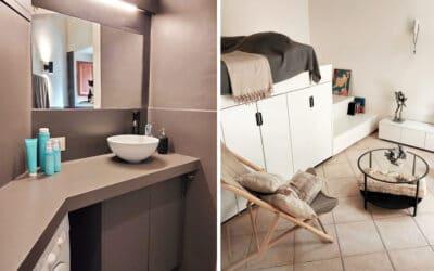 Ferienwohnung Ortigia Badezimmer und Schlafzimmer (1)